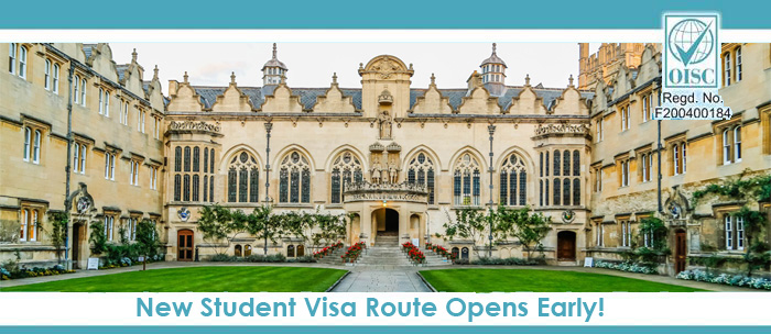 New Student Visa Route of UK Immigration Opens Early.